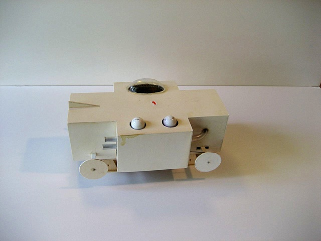 White Box with Canopy and Large Intake
