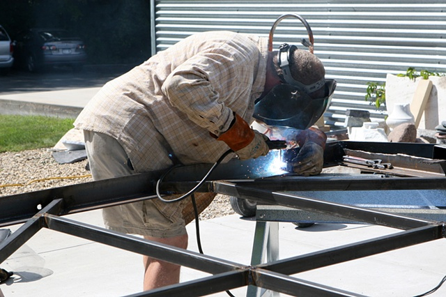 Welding on Balma Frame