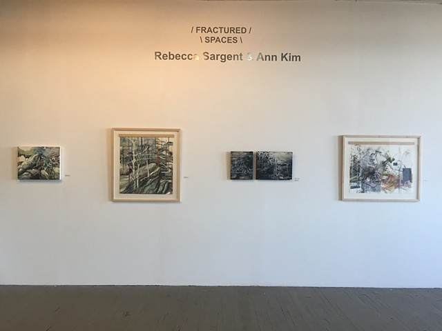 """Fractured Spaces"" Two-Person Exhibition"