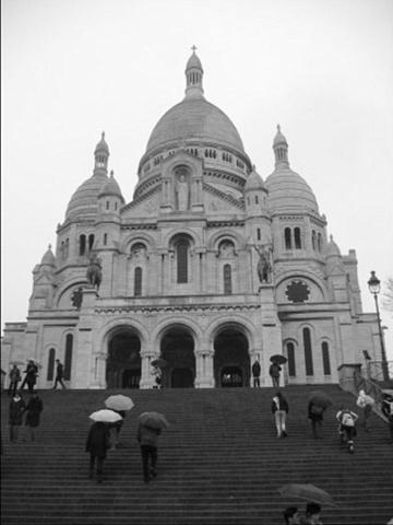 Showers in Montmartre