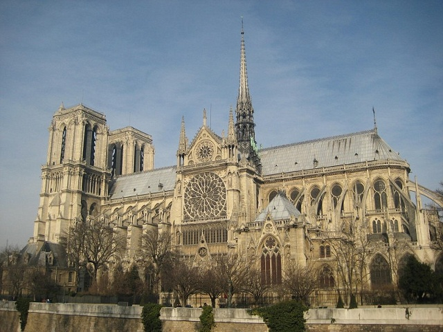 Notre Dame Cathedral Color