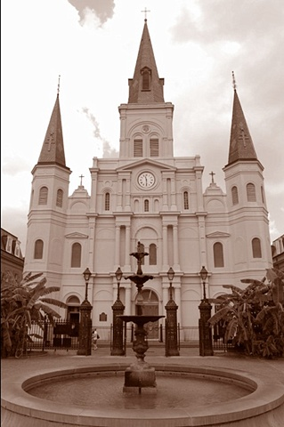 St. Louis Cathedral (Sepia)