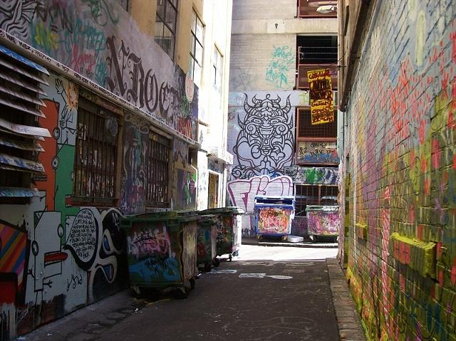 Grafitti Alley