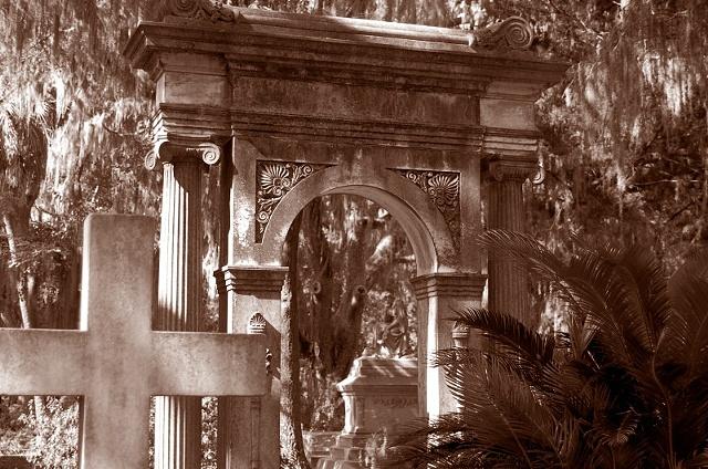 Bonaventure Cemetery #1- Sepia