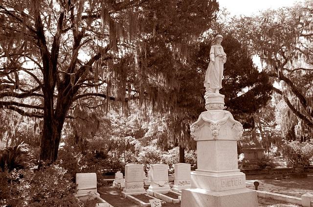 Bonaventure Cemetery #9- Sepia