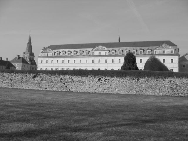 L'Abbaye bw