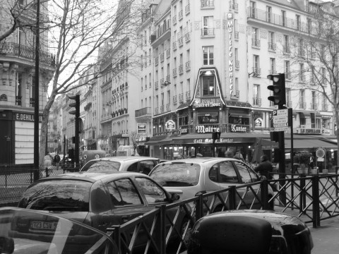Paris at Rush Hour