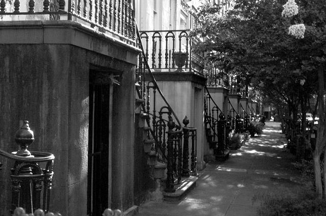West Gordon Street- B&W