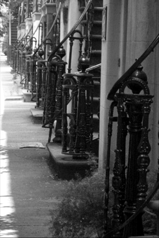 Bannisters- B&W