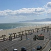 Mountains in Canet Plage