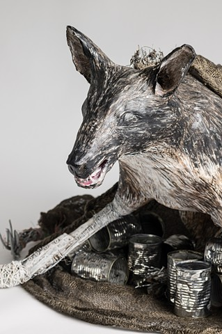 wolves, aluminum cans, fairy tales, fables