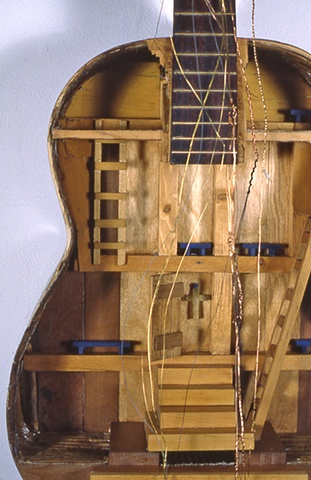 Piseco Guitar-detail