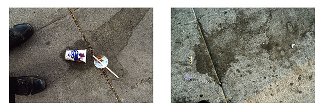 Sidewalk Stain: July, September
