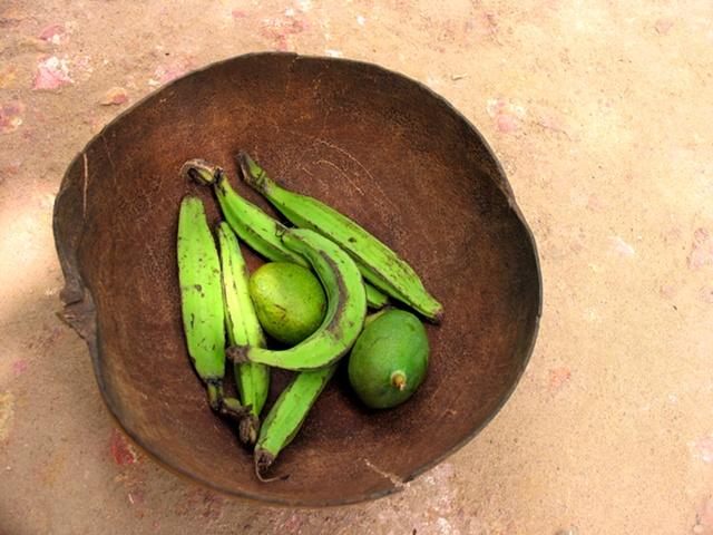 Banana and Mango