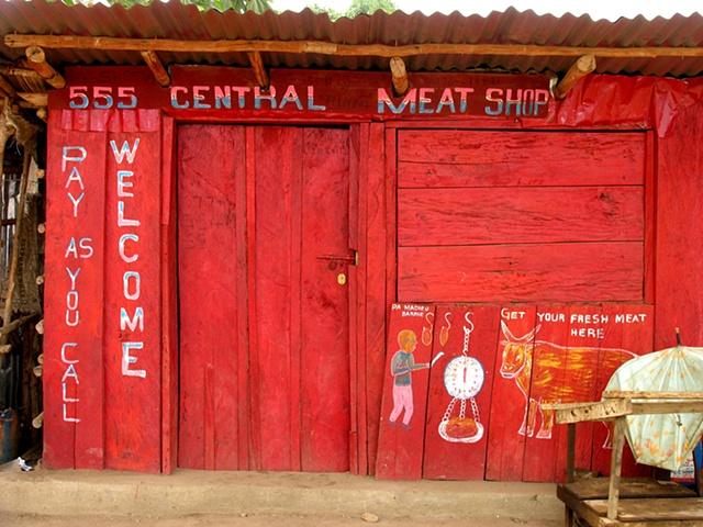 Meat Market, Freetown, Sierra Leone