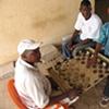 "Men playing ""Drafts"", Freetown, Sierra Leone"