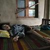 A boy at home, Danang.