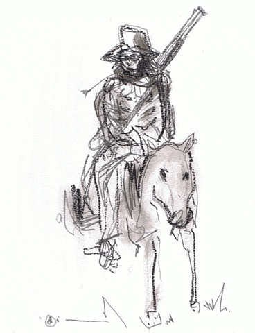 Nelson Figueroa - Horse with Cigarett