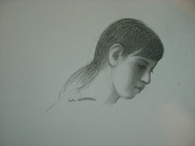Amber Lia Kloppel - Head of Woman study small
