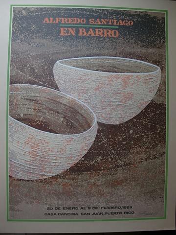 Alfredo Santiago en Barro