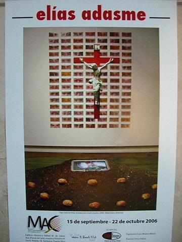 Elias Adasme - Cartel Exposicion en el MAC