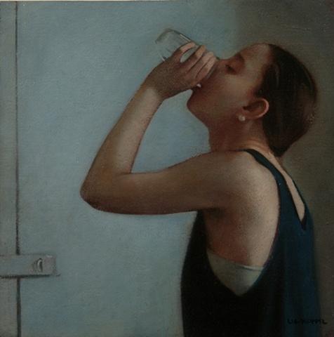 Amber Lia Kloppel - Woman Drinking Water