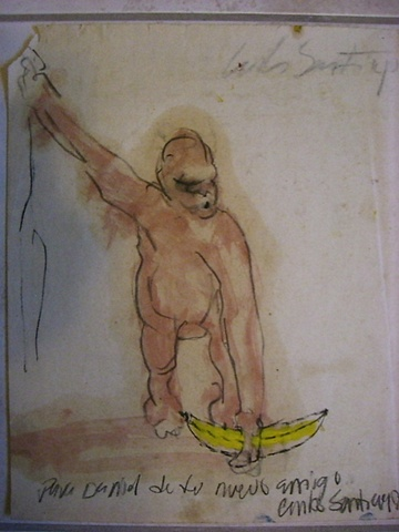 Carlos Santiago - Mono con Banana