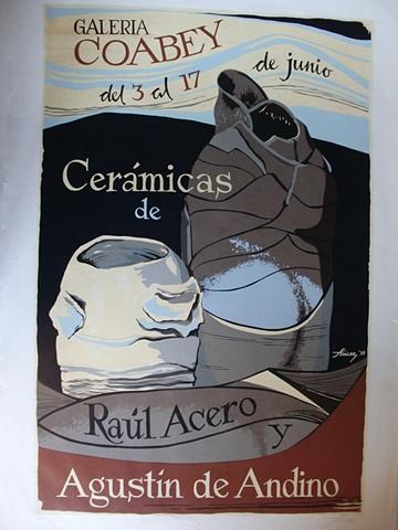Ceramicas de Raul Acero y Agustin de Andino