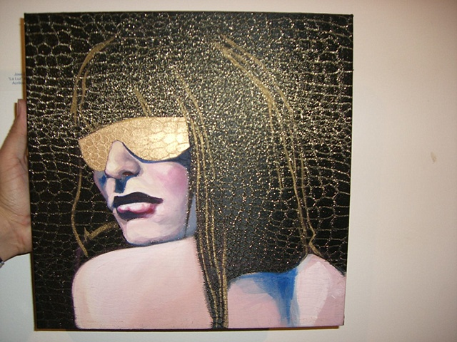 Admin Torres - Woman in Golden Shades