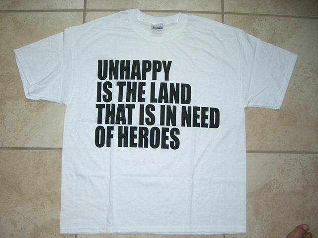 Jason Mena - Unhappy is the land in need of heroes