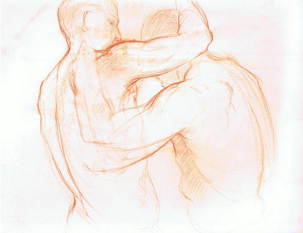 Luis Borrero - Study for Painting