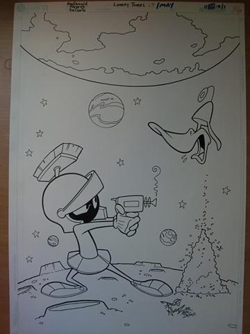 Portada Marvin the Martian