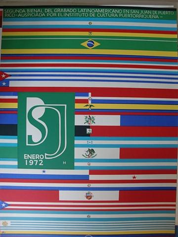 Segunda Bienal de Grabado del 1972