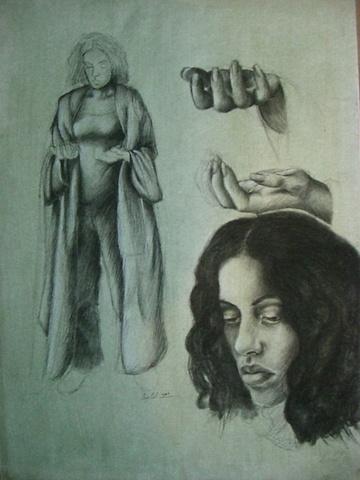 Aixa Olivera - Boceto Mujer