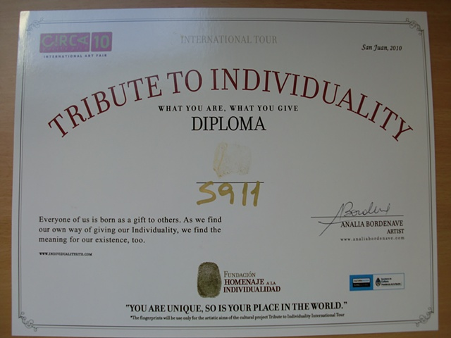 Tribute to Individuality