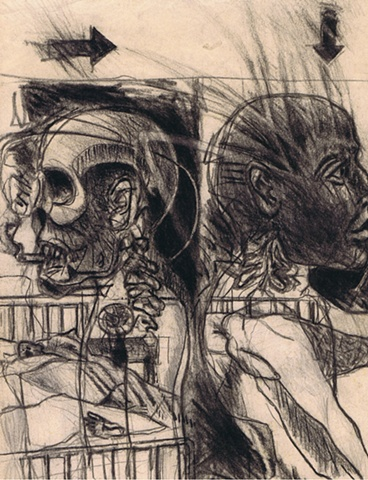Aby Ruiz - Study for Deathbed