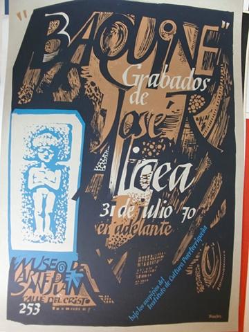 Baquine Grabados de Jose Alicea