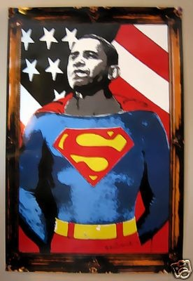 Mr. Brainwash - Super Barack Obama