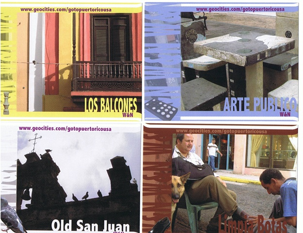 W y N - Postcards 3