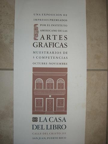 Irene Delano - Exposicion de Impresos Premiados en Casa del Libro