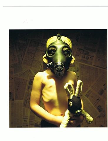 Joshua Hoffine - Gas Mask