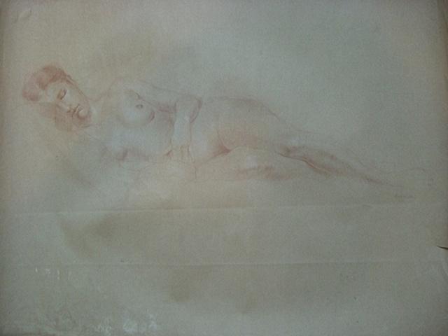 Luis Borrero - Woman in Bed