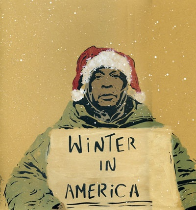 Winter in America - ed 100 hand painted