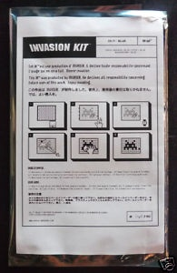 Invasion Kit # 11 instructions and edition