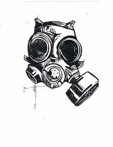 Jose Ortiz - Gas Mask 2