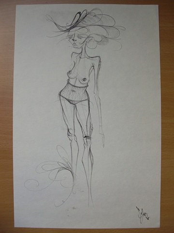 Mujer Parada
