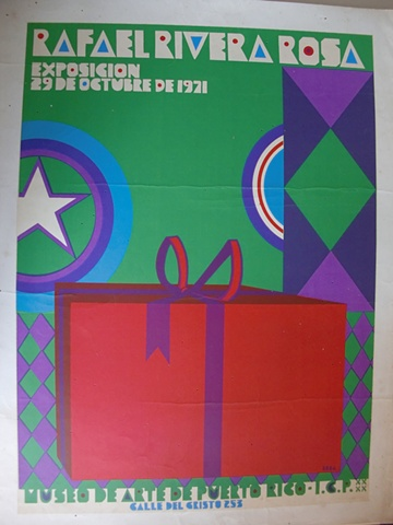 Rafael Rivera Rosa Exposicion 1971