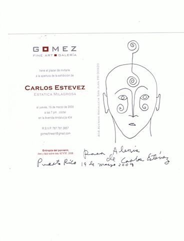 Carlos Estevez - Drawing