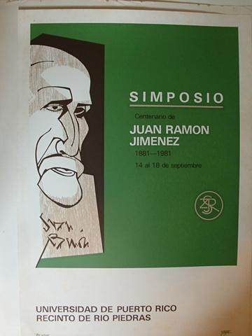 Simposio Centenario Juan Ramon Jimenez