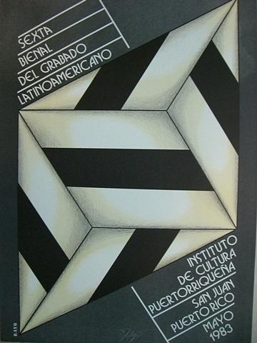 Omar Rayo - 6ta Bienal de Grabado